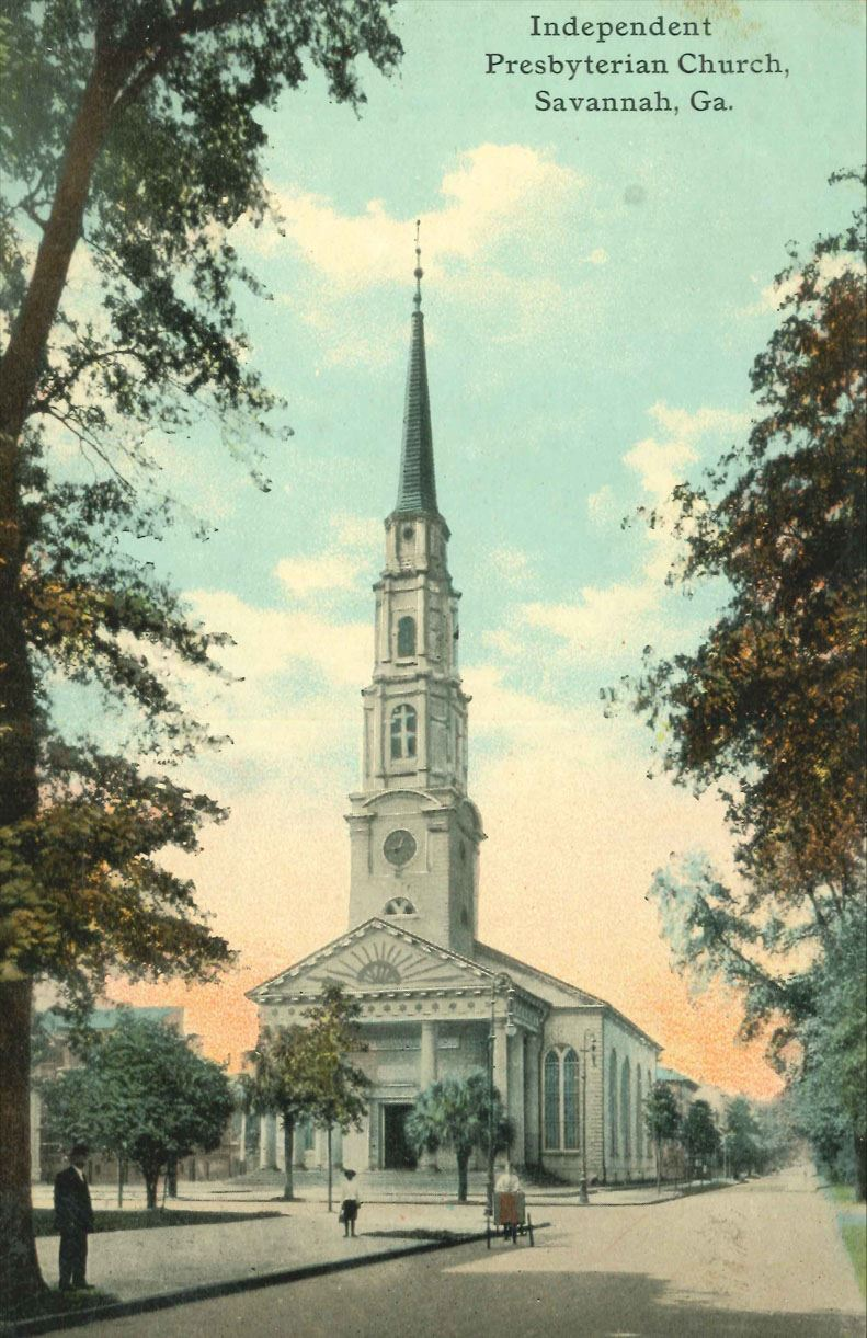 Postcard of Independent Presbyterian Church