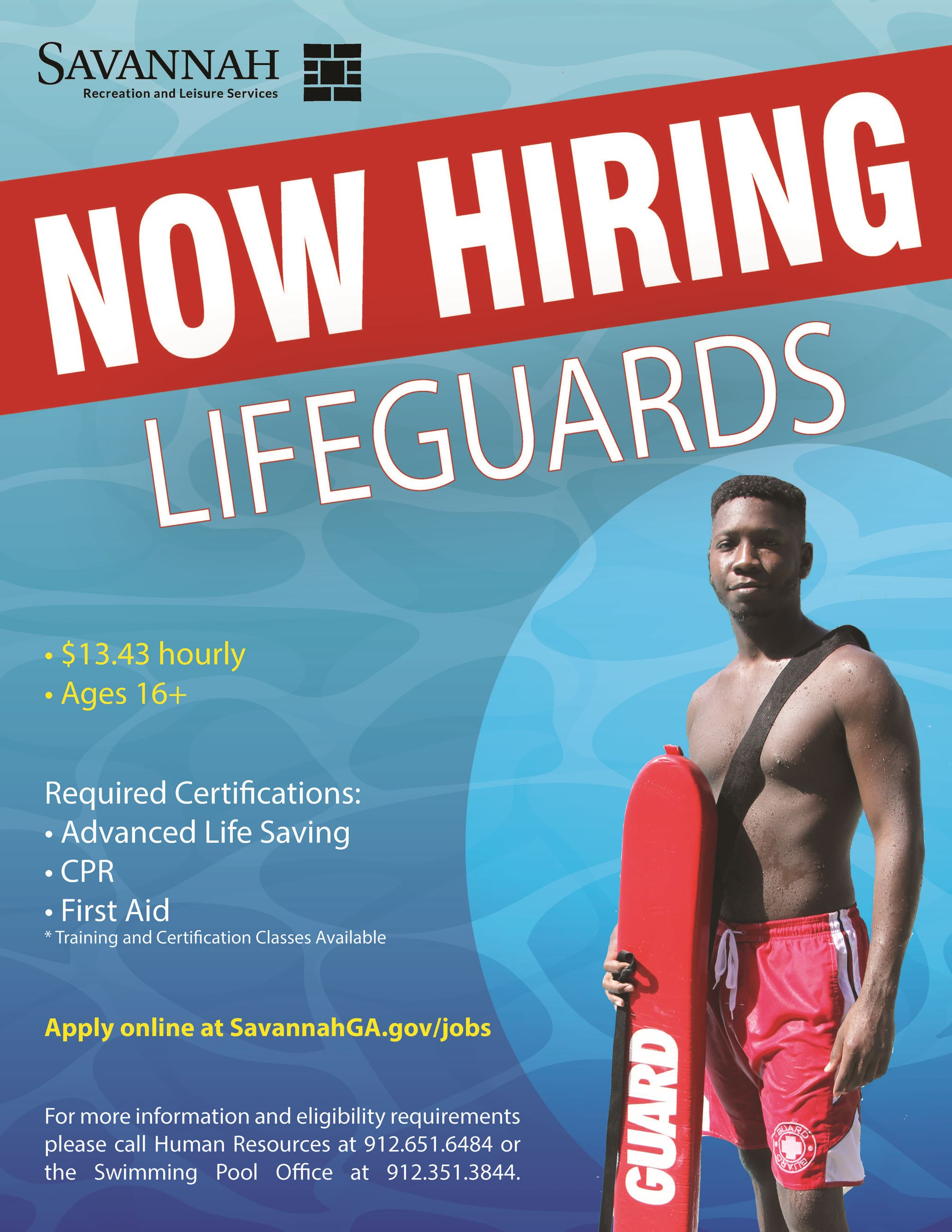 2020 Lifeguard Recruitment
