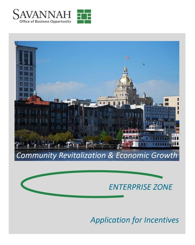 Enterprise Zone Application for Incentives (PDF)