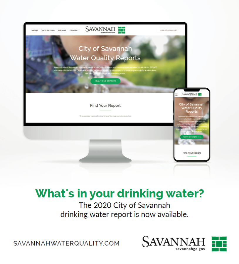 Savannah Water Quality Report