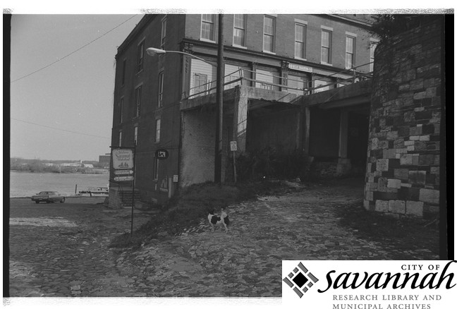 Savannah Riverfront, August 1973